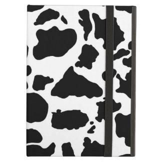 Schwarzweiss-Kuh-Druck-Abdeckung für iPad Air
