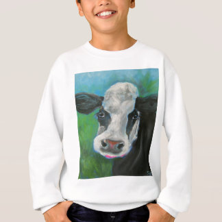 Schwarzweiss-Kuh Sweatshirt