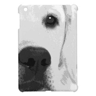 Schwarzweiss-Labrador retriever iPad Mini Hülle
