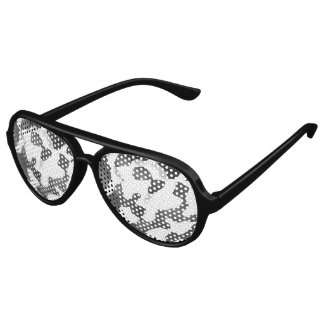 Schwarzweiss-Land-Kuh-Muster Sonnenbrille