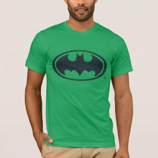 Schwarzweiss-Logo Batman-Symbol-| T-Shirt