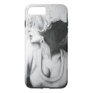 Schwarzweiss-Mädchen iPhone 8 Plus/7 Plus Hülle