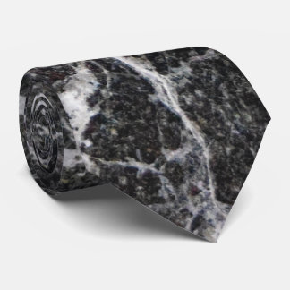 Schwarzweiss-Marmorbeschaffenheit Individuelle Krawatten