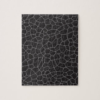 Schwarzweiss-Mosaik Puzzle