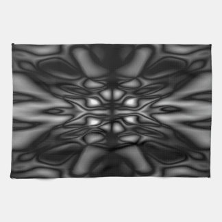 Schwarzweiss-Muster Handtuch