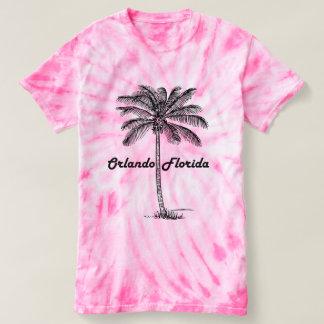 Schwarzweiss-Orlando- u. Palmenentwurf T-shirt
