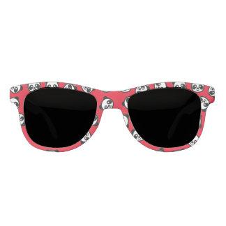 Schwarzweiss-Panda-Cartoon-Muster Brille