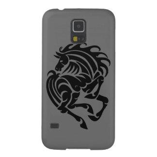 Schwarzweiss-Pferd Samsung Galaxy S5 Cover