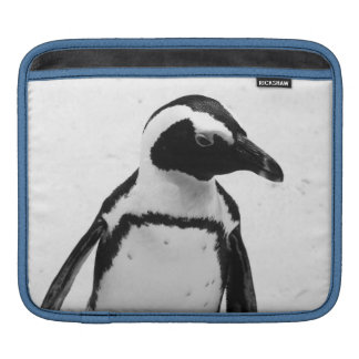 Schwarzweiss-Pinguin iPad Sleeve
