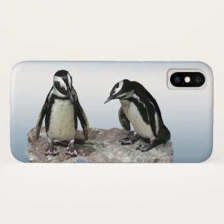 Schwarzweiss-Pinguin-Vögel iPhone X Kasten iPhone X Hülle