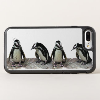 Schwarzweiss-Pinguin-Vögel OtterBox Symmetry iPhone 8 Plus/7 Plus Hülle
