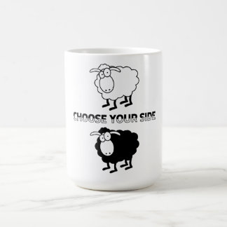 Schwarzweiss-Schafe Kaffeetasse