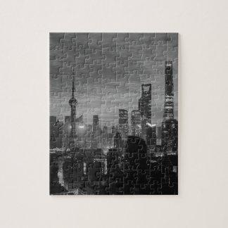 Schwarzweiss-Shanghai Puzzle
