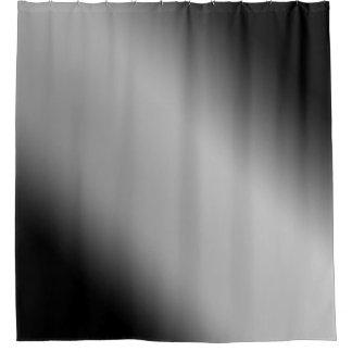 Schwarzweiss-Steigungs-Diagonale Duschvorhang