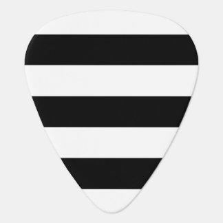 Schwarzweiss-Streifen Plektrum