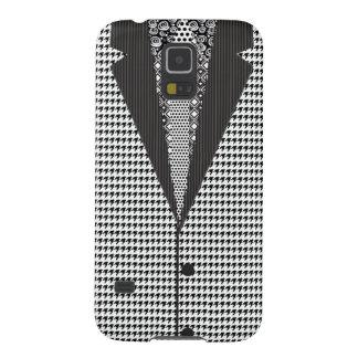 Schwarzweiss-Streifen Samsung S5 Hülle