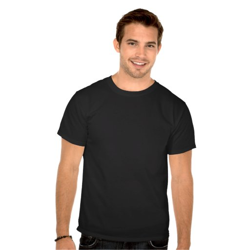 Schwarzweiss-T - Shirt New York City Brooklyn