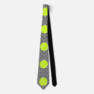 Schwarzweiss-Tennis-Spieler-oder Individuelle Krawatten