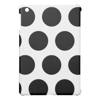 Schwarzweiss-Tupfen iPad Mini iPad Mini Hülle