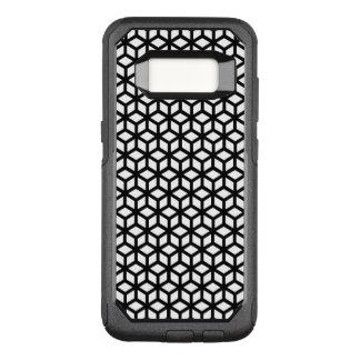 Schwarzweiss-Würfel-Muster OtterBox Commuter Samsung Galaxy S8 Hülle
