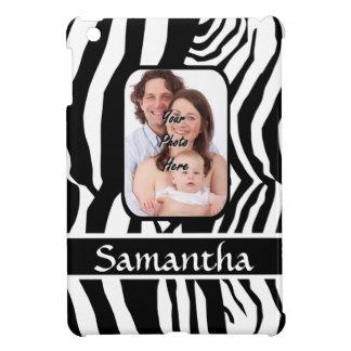 Schwarzweiss-Zebradruck iPad Mini Hülle