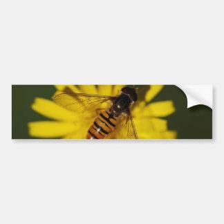 Schwebeflug-Fliegen-Foto Autoaufkleber