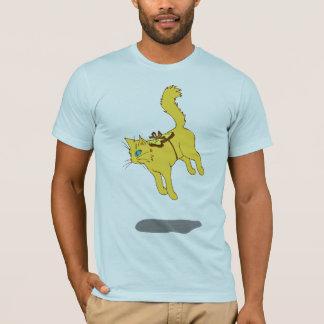 Schwebeflug-Katze T-Shirt