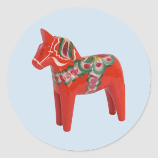 Schwede Dala Pferd Aufkleber
