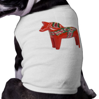 Schwede Dala Pferdeskandinavier-Haustier T-Shirt