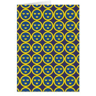 Schwede Roundel Blau Karte