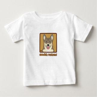 Schwede Vallhund Cartoon Baby T-shirt