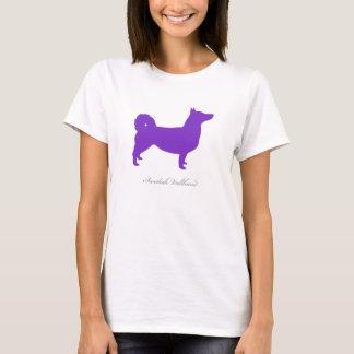 Schwede Vallhund T - Shirt (lila natürliche)