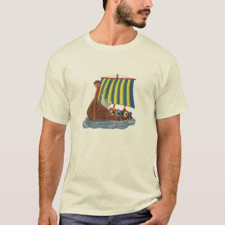 Schwede-Viking-Schiffs-skandinavisches T-Shirt