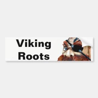 Schwede-Viking-Wurzeln Autoaufkleber