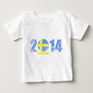 schweden_2014.png baby t-shirt