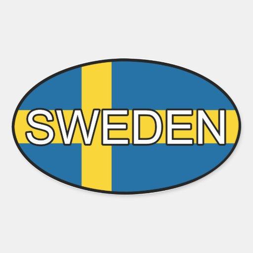 Schweden-Euro-Aufkleber