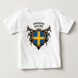 Schweden-Felsen Baby T-shirt