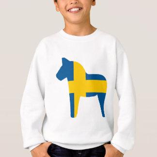 Schweden-Flagge Dala Pferd Sweatshirt
