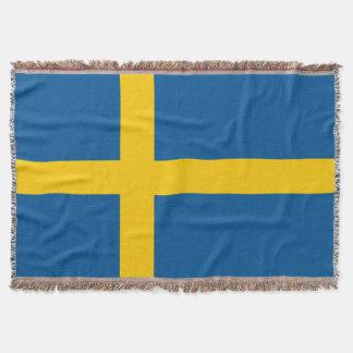 Schweden-Flagge Decke
