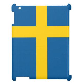 Schweden-Flagge iPad Schale