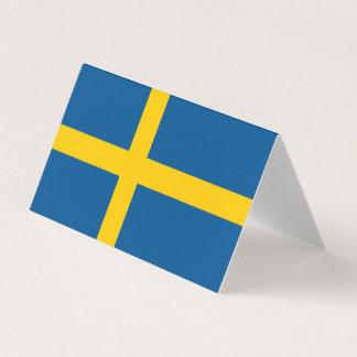 Schweden-Flagge Karte