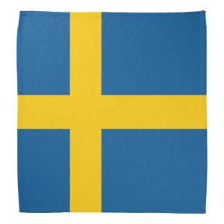 Schweden-Flagge Kopftuch