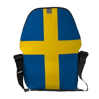 Schweden-Flagge Kuriertasche