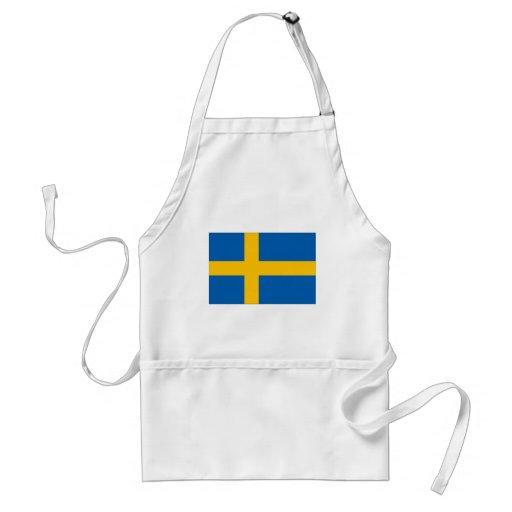 Schweden-Flagge Schürze