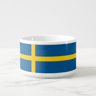 Schweden-Flagge Schüssel