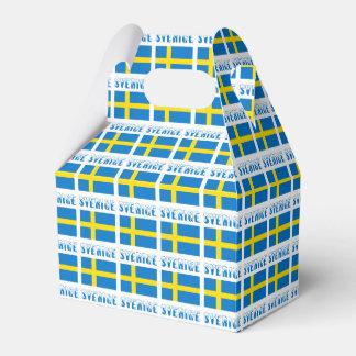 Schweden Flagge u. Sverige Geschenkkartons