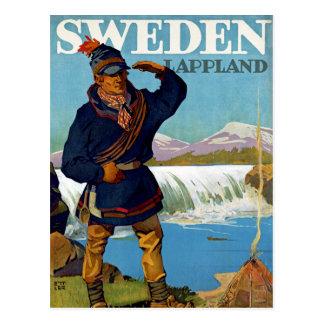 Schweden ~ Lappland Postkarte