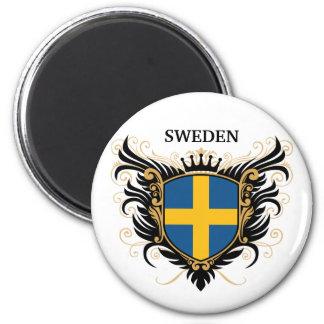 Schweden [personifizieren Sie] Kühlschrankmagnet
