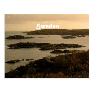 Schweden Postkarte