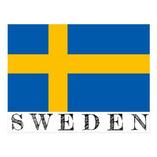 Schweden-Postkarte Postkarte